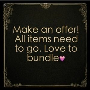Other - Bundle 5 items for $20! Moving sale!